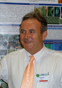 Philippe Prior, bactériologiste à l'Inra